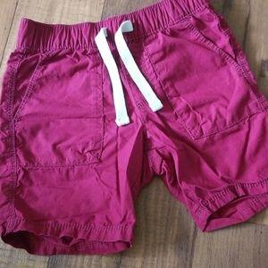 Old Navy 3T Burgundy Drawstring Shorts